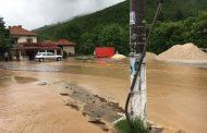 Бедствено положение в две села заради проливен дъжд