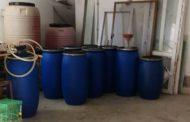 Иззеха над 2,5 тона нелегален алкохол в