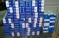 Откриха 470 кутии контрабандни цигари в тайници на два товарни автомобила на Лесово