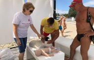 На плаж Крайморие проведоха курс по долекарска помощ