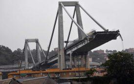 Мост се срути в Генуа, има десетки ранени