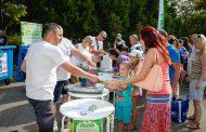 """1300 деца поставиха началото на """"Стара хартия за нова книга"""" в Бургас"""