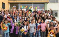 """Кметът Димитър Николов откри учебната година в училище """"Христо Ботев"""" в кв. """"Долно Езерово"""""""