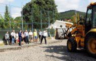 Започна изграждането на ново игрище в Кошарица