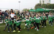 """Откриха новия футболен терен в """"Изгрев"""""""