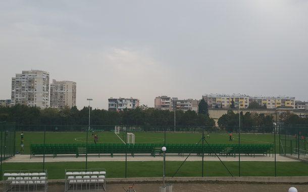 Откриват обновения футболен терен в