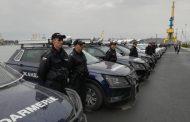 Нови 73 патрулни полицейски автомобили получи полицията в Бургас /снимки/
