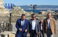 Кметът на Несебър се срещна с командира на военноморските сили на Република България
