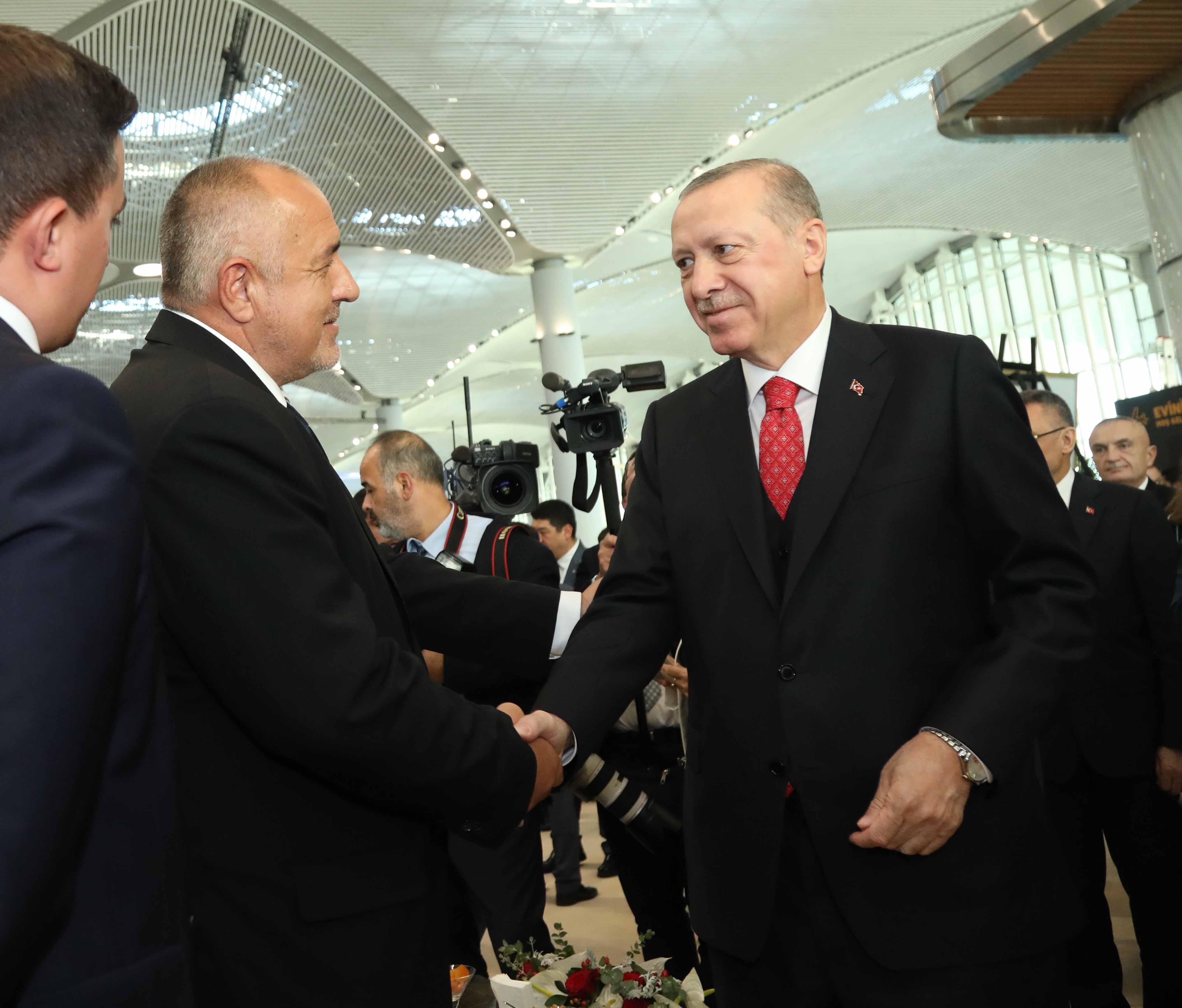 Бойко Борисов присъства на откриването на новото летище в Истанбул