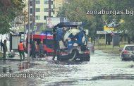 Гръцкият циклон Ксенофонт удари Бургас и Поморие (видео)