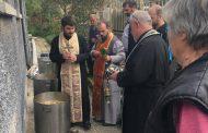 Година след наводнения в община Камено беше отслужен молебен