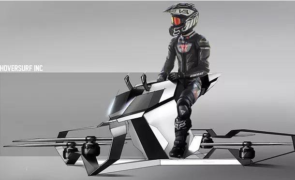 Полицаите в Дубай преследват бандити с летящи мотоциклети/видео/