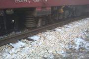 Влак излезе от релсите между гарите Реброво и Своге