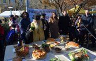 Кметът и Сливенският митрополит осветиха Никулденската трапеза
