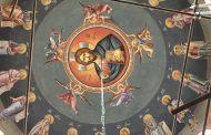 Крайморската църква посреща Рождество Христово с изографисан купол