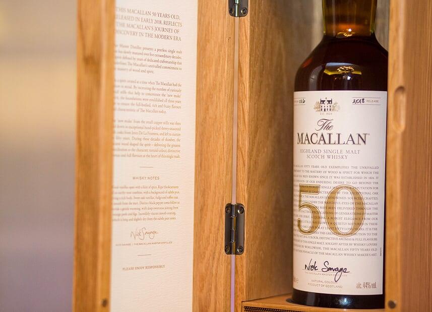 50-годишно уиски беше продадено на търг за 65 000 лв. в България