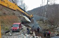 Тече ремонта на падналата ограда по границата (СНИМКИ)