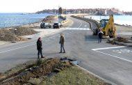 Продължават ремонтите на улици и кръстовища в Несебър