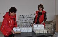 БЧК - Несебър започна поетапното раздаване на хранителни пакети