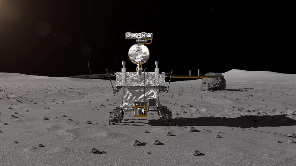 Китайска сонда кацна за пръв път на обратната страна на Луната