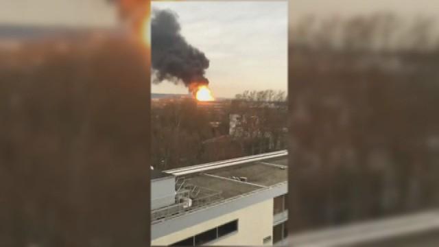 Голяма експлозия в университет в Лион