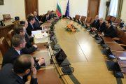 Бойко Борисов провежда среща с представители на Българската петролна и газова асоциация