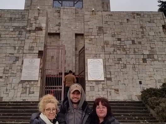 Григор Димитров се прибра в Хасково