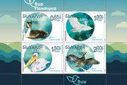 Пощенски марки показват красиви птици от бургаските езера