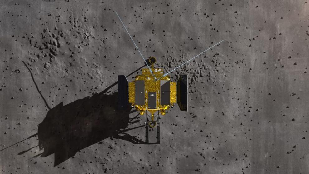 Измръзна памукът, който покълна на Луната (СНИМКИ)