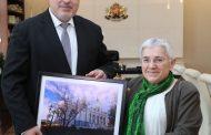"""Бойко Борисов се срещна с архитекта Фикрие Булунмаз, реставраторът на желязната църква """"Св. Стефан"""" в Истанбул"""