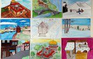 """140 деца рисуваха за патронния празник на СУ """"Любен Каравелов"""" в Несебър"""