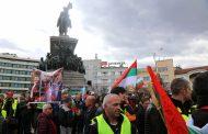 Полицията използва сълзотворен газ на протест в София