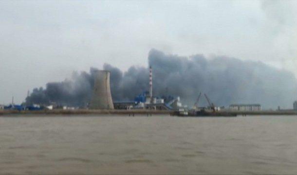 Силна експлозия в химически завод в Китай, има загинали
