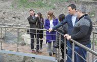 """Посетителите вече ще разглеждат отблизо забележителностите на археологически комплекс """"Акве Калиде"""""""