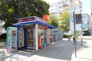 Община Бургас предлага по-нисък наем за преместваеми търговски обекти