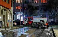 Кола се взриви в Меден Рудник