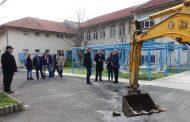 Започна разширяването на училището в Св. Влас