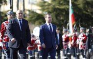 Бойко Борисов посрещна председателя на правителството на Руската федерация Дмитрий Медведев/снимки/