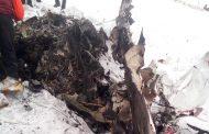 Първи кадри от мястото на разбилия се самолет/снимки +видео/
