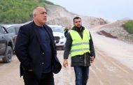 """Борисов направи инспекция на строителството на участък от АМ """"Хемус"""""""