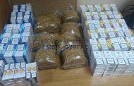 Бургаски полицаи задържаха огромно количество цигари и тютюн