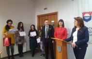 Окръжният и Районният съд на Бургас отличиха студент по право в Бургаски свободен университет