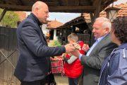 Козичино празнува Цветница с магичен лазарски обичай, Жозеф Дол гост на празника