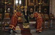 Пасхалната служба в храм