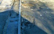 Започнаха демонтажа на релсите, пресичащи ул.