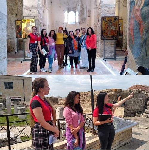 Ученици станаха  екскурзоводи в Несебър