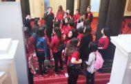 """Ученици от СУ """"Любен Каравелов"""" – Несебър посетиха Народното събрание"""
