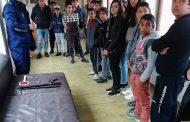 Ученици от Кошарица се запознаха отблизо с работата на полицията