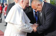 """Борисов: """"В лицето на папа Франциск имаме един голям приятел на България"""""""