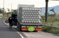 Теч на природен газ край Благоевград заради аварирал камион